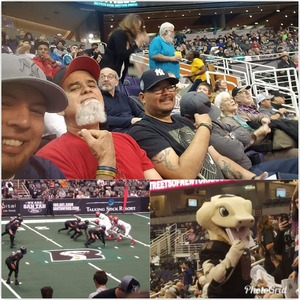 Joel attended Arizona Rattlers vs. Sioux Falls Storm - IFL on Feb 25th 2018 via VetTix