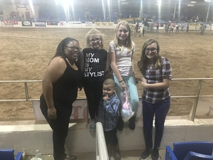 Celia attended The 65th Annual Parada Del Sol Rodeo - Bull Riding Only on This Night on Mar 8th 2018 via VetTix