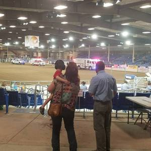 Charles attended The 65th Annual Parada Del Sol Rodeo - Bull Riding Only on This Night on Mar 8th 2018 via VetTix