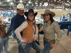 Alicia attended The 65th Annual Parada Del Sol Rodeo - Bull Riding Only on This Night on Mar 8th 2018 via VetTix