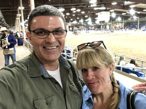 Edward attended The 64th Annual Parada Del Sol Rodeo - PRCA Rodeo on Mar 9th 2018 via VetTix