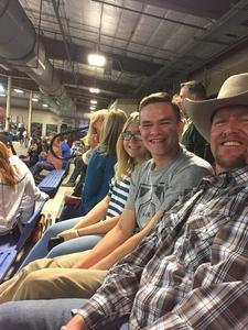 Michael attended The 64th Annual Parada Del Sol Rodeo - PRCA Rodeo on Mar 9th 2018 via VetTix