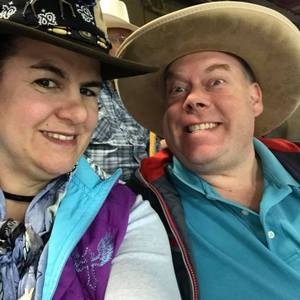 Alisa and Ben Frisch attended The 64th Annual Parada Del Sol Rodeo - PRCA Rodeo on Mar 9th 2018 via VetTix