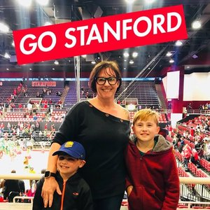 Jenn attended Stanford Cardinal vs. Washington State - NCAA Men's Basketball on Feb 24th 2018 via VetTix