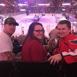 Nicholas attended Florida Panthers vs. Washington Capitals - NHL on Feb 22nd 2018 via VetTix