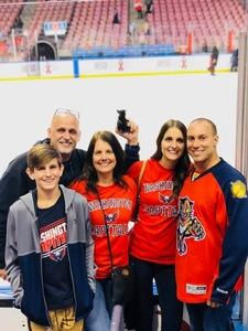 Joseph attended Florida Panthers vs. Washington Capitals - NHL on Feb 22nd 2018 via VetTix