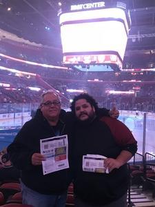 Edgardo attended Florida Panthers vs. Washington Capitals - NHL on Feb 22nd 2018 via VetTix