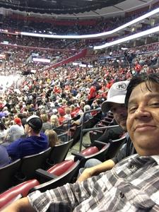 Emilio attended Florida Panthers vs. Washington Capitals - NHL on Feb 22nd 2018 via VetTix