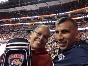 Carlos attended Florida Panthers vs. Washington Capitals - NHL on Feb 22nd 2018 via VetTix