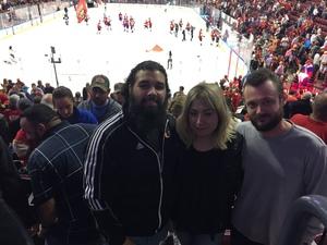 Wayne attended Florida Panthers vs. Washington Capitals - NHL on Feb 22nd 2018 via VetTix