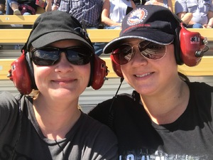 Aubrie attended 2018 TicketGuardian 500 - Monster Energy NASCAR Cup Series on Mar 11th 2018 via VetTix
