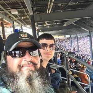 Louie attended 2018 TicketGuardian 500 - Monster Energy NASCAR Cup Series on Mar 11th 2018 via VetTix