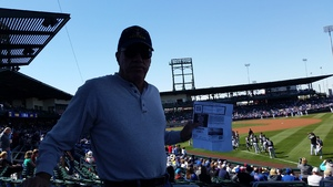Bob attended Chicago Cubs vs. Chicago White Sox - MLB Spring Training on Feb 27th 2018 via VetTix
