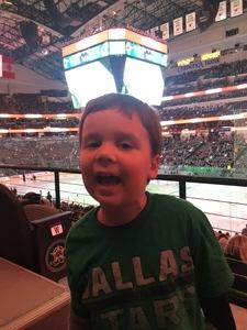 Christopher attended Dallas Stars vs. Tampa Bay Lightning - NHL on Mar 1st 2018 via VetTix