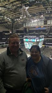 Lance attended Dallas Stars vs. Tampa Bay Lightning - NHL on Mar 1st 2018 via VetTix