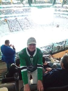 Frank attended Dallas Stars vs. Tampa Bay Lightning - NHL on Mar 1st 2018 via VetTix