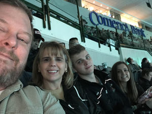 Bell Family attended Dallas Stars vs. Tampa Bay Lightning - NHL on Mar 1st 2018 via VetTix