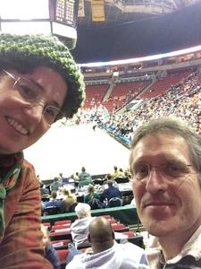 Amy attended Pac-12 Women's Basketball Tournament - Quarterfinals - Teams TBD on Mar 2nd 2018 via VetTix