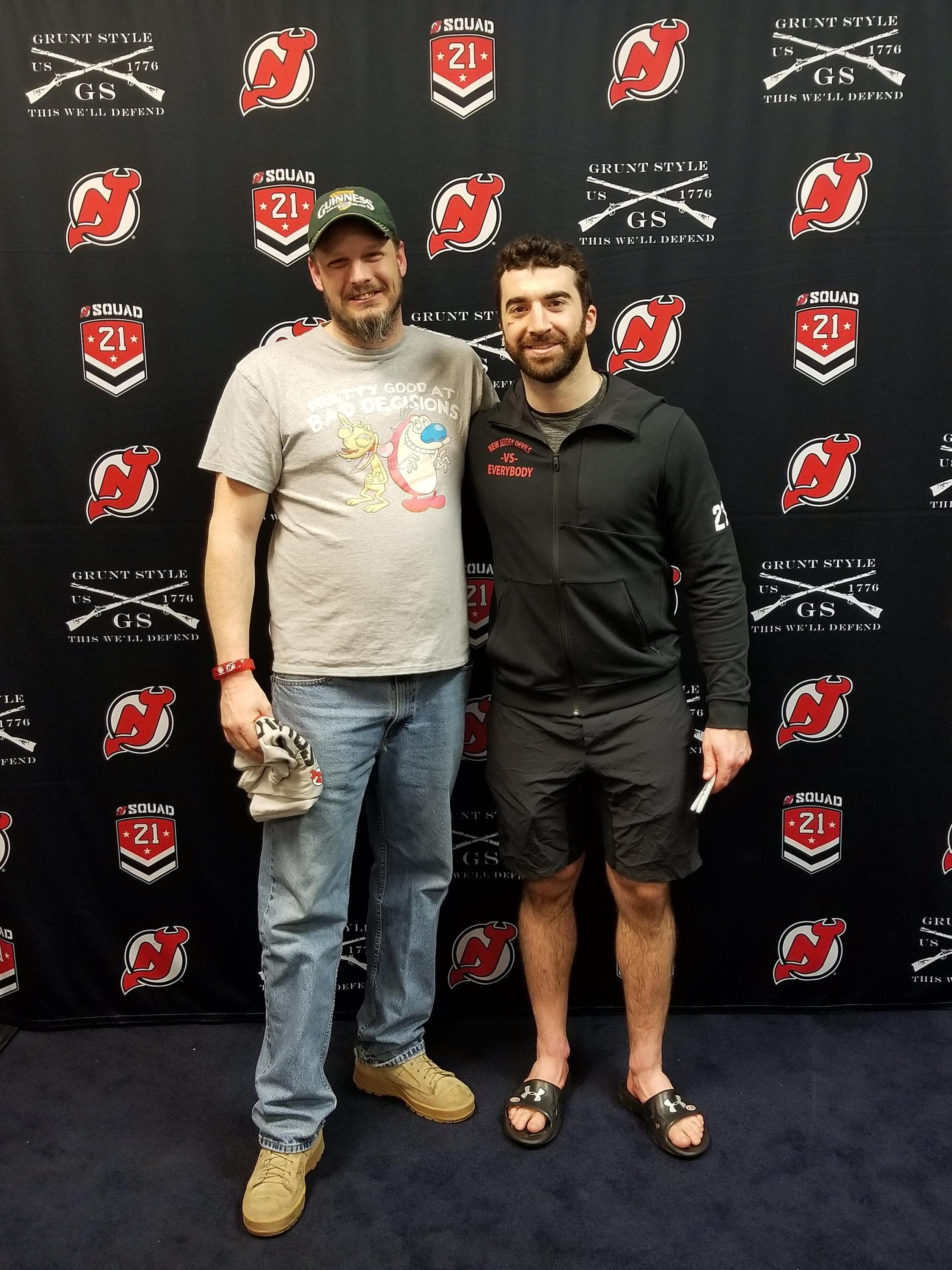 Thank you messages to veteran tickets foundation donors glenn attended new jersey devils vs toronto maple leafs nhl 21 squad tickets m4hsunfo