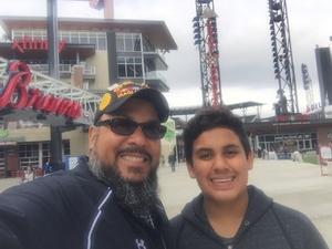 Juan attended Atlanta Braves vs. Braves Future Stars - MLB Exhibition on Mar 27th 2018 via VetTix