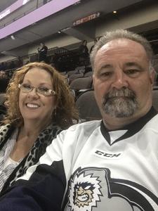 John attended Jacksonville Icemen vs. Reading Royals - ECHL on Mar 2nd 2018 via VetTix