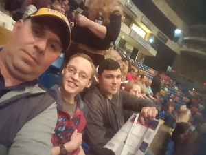 Steven attended Cole Swindell Special Guests: Chris Janson and Lauren Alaina (american Idol) on Mar 9th 2018 via VetTix