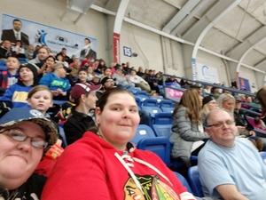 Hope attended Johnstown Tomahawks vs. Northeast Generals - NAHL on Mar 16th 2018 via VetTix