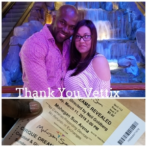 Jethro attended Cirque Dreams Revealed on Mar 11th 2018 via VetTix
