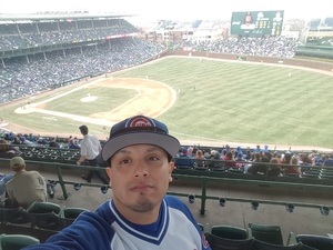 Anthony attended Chicago Cubs vs. Pittsburgh Pirates - MLB on Apr 12th 2018 via VetTix