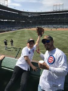 Javier attended Chicago Cubs vs. Pittsburgh Pirates - MLB on Apr 12th 2018 via VetTix