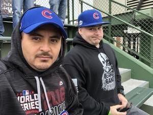 John attended Chicago Cubs vs. Pittsburgh Pirates - MLB on Apr 12th 2018 via VetTix