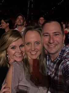 Jeremy attended Brad Paisley - Weekend Warrior World Tour With Dustin Lynch, Chase Bryant and Lindsay Ell on Mar 9th 2018 via VetTix