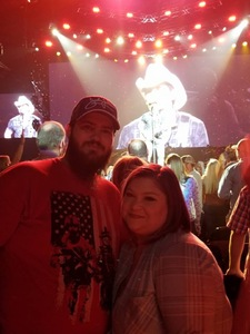Michael attended Brad Paisley - Weekend Warrior World Tour With Dustin Lynch, Chase Bryant and Lindsay Ell on Mar 9th 2018 via VetTix