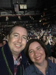Paul attended Brad Paisley - Weekend Warrior World Tour With Dustin Lynch, Chase Bryant and Lindsay Ell on Mar 9th 2018 via VetTix