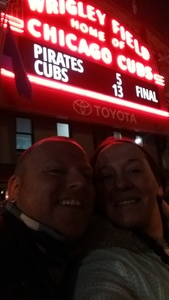 Ashley attended Chicago Cubs vs. Pittsburgh Pirates - MLB on Apr 11th 2018 via VetTix