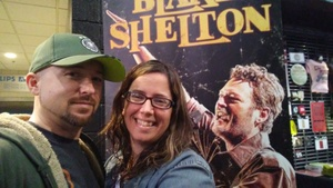 James attended Blake Shelton With Brett Eldredge, Carly Pearce and Trace Adkins on Mar 8th 2018 via VetTix