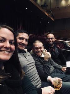 Kristina attended Jim Gaffigan - the Fixer Upper on Mar 4th 2018 via VetTix