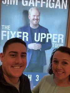 Ryan attended Jim Gaffigan - the Fixer Upper on Mar 4th 2018 via VetTix