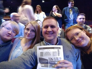 Matthew attended Jim Gaffigan - the Fixer Upper on Mar 4th 2018 via VetTix