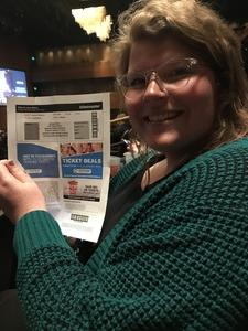 Lachanda attended Jim Gaffigan - the Fixer Upper on Mar 4th 2018 via VetTix