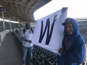 Javier attended Chicago Cubs vs. St. Louis Cardinals - MLB on Apr 19th 2018 via VetTix