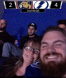 Troy attended Tampa Bay Lightning vs. Florida Panthers - NHL on Mar 6th 2018 via VetTix