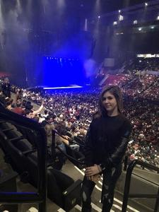 Jasin attended Lorde: Melodrama World Tour on Mar 10th 2018 via VetTix
