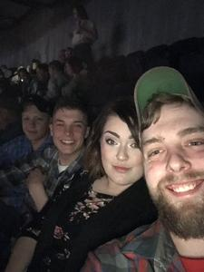 Matthew attended Brad Paisley - Weekend Warrior World Tour With Dustin Lynch, Chase Bryant and Lindsay Ell on Apr 6th 2018 via VetTix