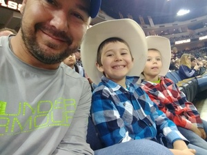 James attended PBR - 25th Anniversary - Unleash the Beast - Tickets Good for Sunday Only. on Mar 11th 2018 via VetTix