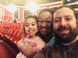 Iris attended Seussical the Musical on Apr 26th 2018 via VetTix