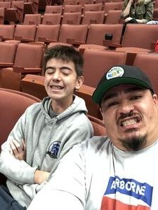 Fernando attended 2018 Big West Tournament - Men's Semifinals - Friday - Tickets Good for All Games on 3/9 on Mar 9th 2018 via VetTix