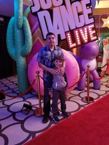 Ivan attended Just Dance Live! - Saturday Matinee on Mar 31st 2018 via VetTix