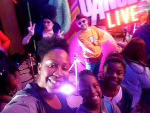 TAMMESSIA attended Just Dance Live! - Saturday Matinee on Mar 31st 2018 via VetTix
