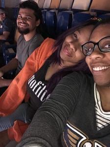 Rochelle attended New Orleans Pelicans vs. Utah Jazz - NBA on Mar 11th 2018 via VetTix